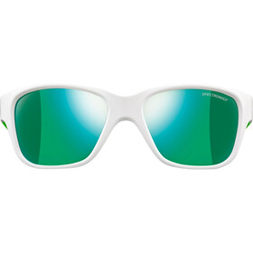Julbo Turn Spectron 3CF Sunglasses Kids 4-8Y Shiny White/Fluorescent Green-Multilayer Green